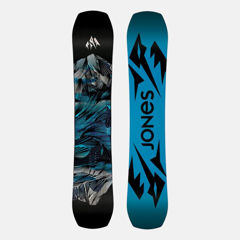 Jones Men's Mountain Twin Snowboard Flip-flop base
