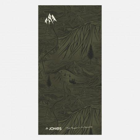 Mountain Aloha Tan neckwarmer artwork