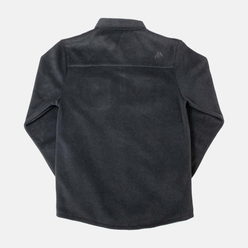 December fleece shirt - black, back