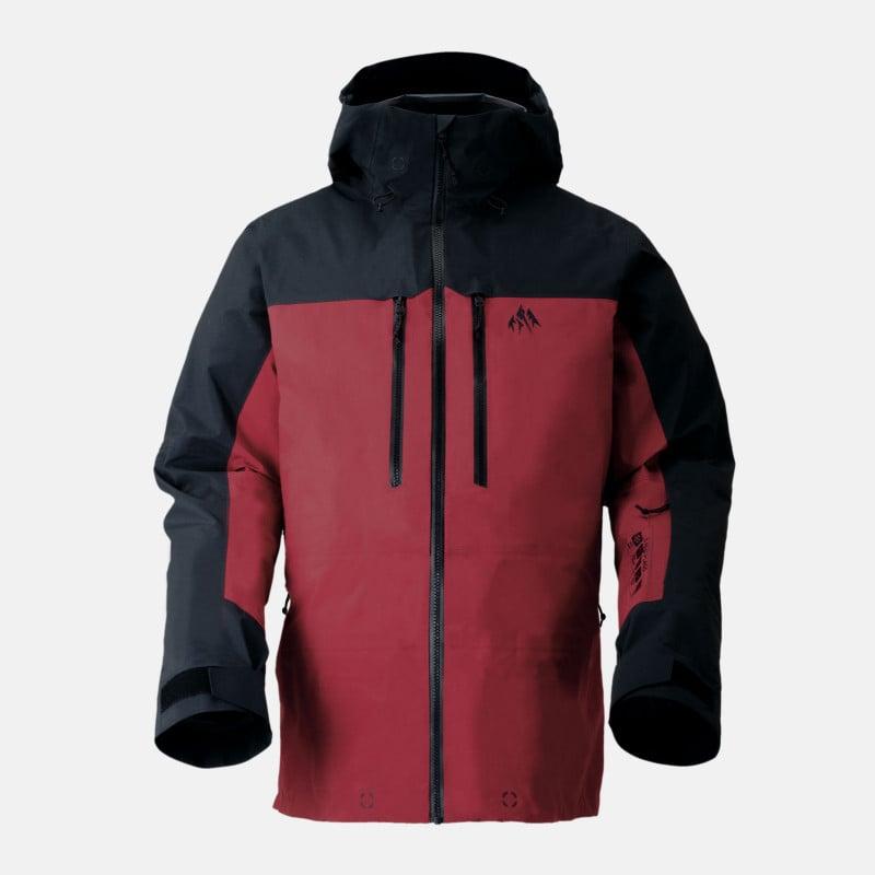 Jones outerwear Shralpinist 3L GORE-TEX PRO jacket in safety red