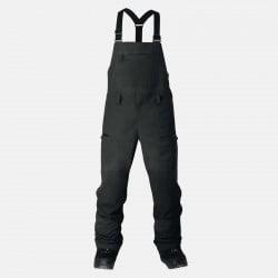 Jones outerwear Mountain Surf bib in stealth black