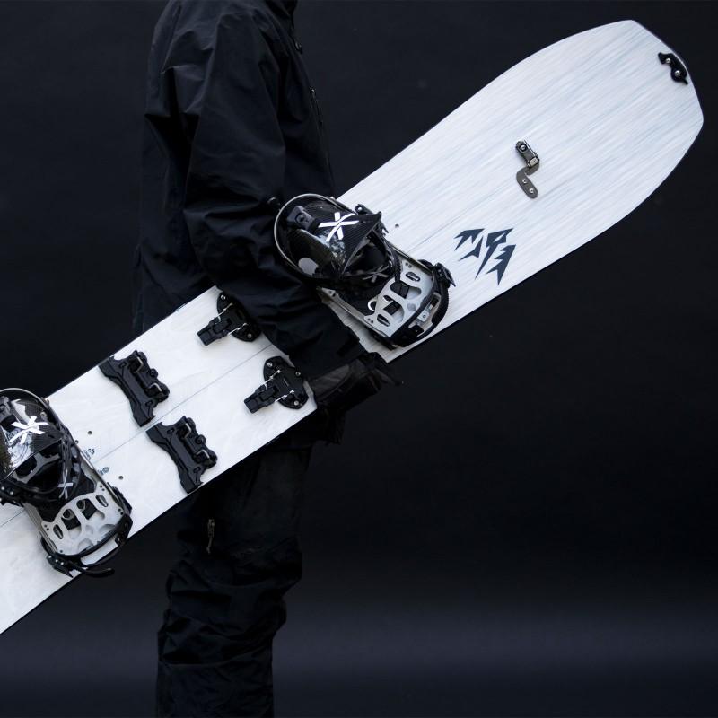 Jones Men's Solution Splitboard with Karakoram Bindings